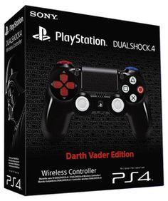Sony PlayStation DUALSHOCK®4 Wireless Controller Darth Vader Edition Accessories
