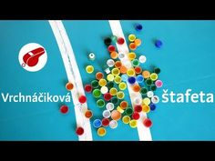 Štafetová hra s vrchnáčikmi - Telocvikari. Triangle, Symbols, Letters, Games, Kids, Youtube, Entertainment, Plays, Children