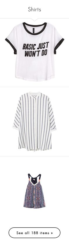 """""""Shirts"""" by jmendez-2 ❤ liked on Polyvore featuring tops, t-shirts, shirts, crop tops, print t shirts, short-sleeve shirt, short t shirt, white crop top, white tee and blouses"""