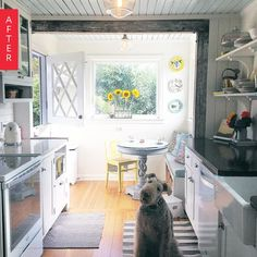 Before & After: A Charming DIY Kitchen Update for Under $5k | Apartment Therapy