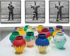 ai weiwei vase worth 1 million USD smashed at perez art museum miami