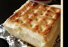 Cream Cheese Lattice Slice - Real Recipes from Mums Just Desserts, Delicious Desserts, Yummy Food, Lemon Desserts, Australian Food, Cream Cheese Filling, Sweet Recipes, Yummy Recipes, Recipies