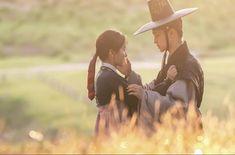 The Tale of Nokdu (조선로코 - 녹두전) - Drama - Picture Gallery Korean Drama Romance, Korean Drama Movies, Jung Joon Ho, Tae Oh, K Drama, Hidden Movie, Kim Sohyun, Movie Of The Week, Kim Dong