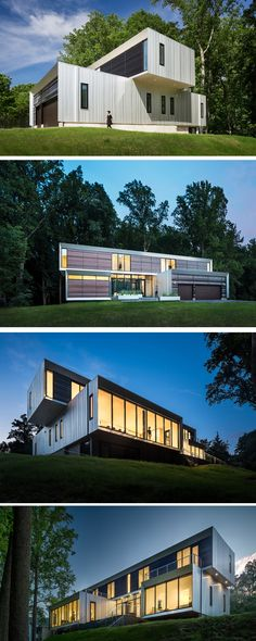 Höweler+Yoon Architecture have designed the Bridge House, a multi-generational family home in McLean, Virginia.