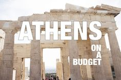 Family Vacation in Athens on a budget