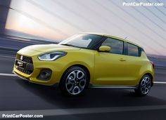 The official SUZUKI global website - our products, news, corporate & IR information, and global links. Suzuki Swift Sport, New Swift, Suzuki Cars, Ford Fiesta St, Yellow Car, Volkswagen Polo, Car Posters, Rally Car, Car Wallpapers