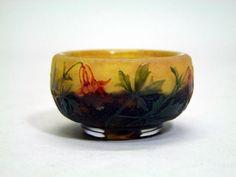 Daum Nancy Miniature Cameo Bowl