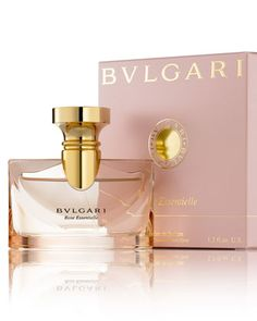 Kind of obsessed with rose scents  Rose Essentielle Eau de Parfum by Bvlgari at Neiman Marcus.
