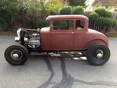 Hot Rods 1928-1948: Ford : Model A Hot Rod,V8, Daily Driver, California Car 1931 Ford Model A Coupe-Hot Rod-V8 -California Car-1928-1929-1930-1931-SCTA