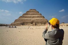 Step Pyramid of Zoser in Sakkara, you will visit it during Cairo Tour from any point in Egypt.