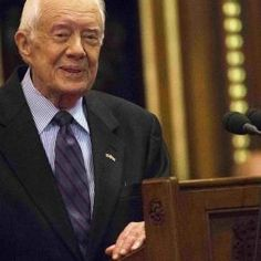 Jimmy Carter: only former President attending Trump inaugural.
