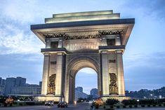 north korea tour, life in north korea, pyongyang travel Life In North Korea, George Washington Bridge, Brooklyn Bridge, Traveling By Yourself, Arch, Tours, World, Image, The World