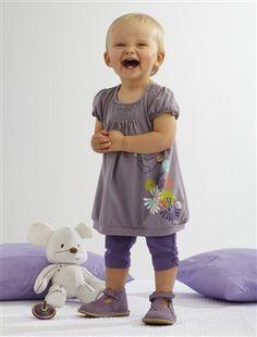 Baby Girl Dress & leggings outfit, Baby 0-36 months   Vertbaudet