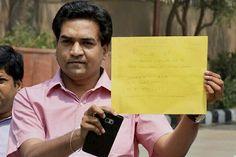 Kapil Mishra levels fresh allegations against CM, to meet CBI today