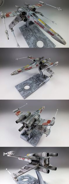 Bandai x Star Wars 1/72 X-Wing Starfighter: Amazing Work by oyoshicity. Full Photoreview Hi Res Images   GUNJAP