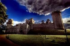 Warwick Castle - one of my favourite places.