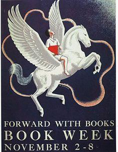 Official Children's Book Week Poster, 1941, Helen Sewell, (1896-1957)
