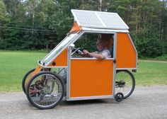 And from Art Haines, who sells DIY solar car kits. | 25 Clever Ways To Harness The Power Of The Sun