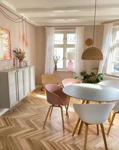 Danish Interior Design, Small House Interior Design, My Living Room, Home And Living, Pastel Room Decor, Pastel Bedroom, Aesthetic Room Decor, Home Decor Inspiration, Decor Ideas