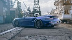 Porsche top down. Rendered in KeyShot by Ahmed Khalidi.