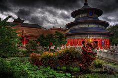 Epcot -- China Pavillion