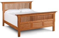 Prairie Mission Panel Headboard Only from Simply Amish furniture