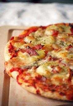 Albahaca y Canela - Pizza de espelta provenzal