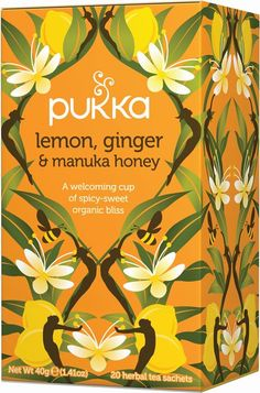 Pukka - Lemon, Ginger & Manuka Honey