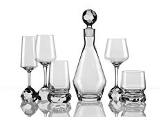 Bomma's Hi-Tech Crystal Czech designers stray from tradition to produce an innovative collection of precision-cut glassware