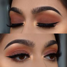 """Gefällt 934 Mal, 6 Kommentare - Beautybychelsea (@chelseasmakeup) auf Instagram: """"Fall smokey eye do you guys want a tutorial for this? Brows: @benefitcosmetics • precisely my…"""""""