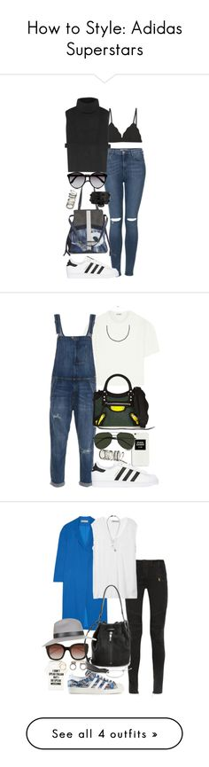 """""""How to Style: Adidas Superstars"""" by malurodz ❤ liked on Polyvore"""