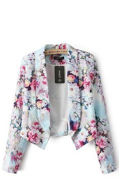 omg i need this right now // floral blazer