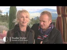 Sting, Trudie Styler and Alan York Discuss Sister Moon Wine