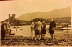 The Duke and Duchess of  York, Landing in Skye 1933