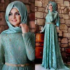 best sky blue party hijab style new eid party hijab style 2017