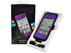 Purple LifeProof Case for the iPhone 4/4S [case-2881375] - $28.00 : iPhone Cases Online Store