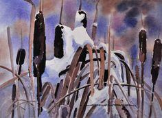 Marsh in March by Gregg Johnson