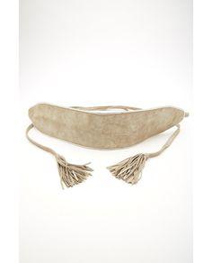b6fde24adfc Cinturón ancho de color plata Cinturones Anchos