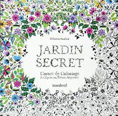 Jardin secret, carnet de coloriage et chasse au trésor anti stress de Johanna Basford http://www.amazon.fr/dp/2501081897/ref=cm_sw_r_pi_dp_u1Prub0D8P7Q4