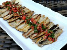 Sardines à la Plancha et petite salsa
