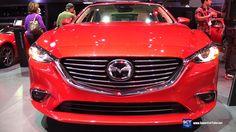 2016 Mazda 6 SkyActiv - Exterior and Interior Walkaround - 2015 LA Auto ...