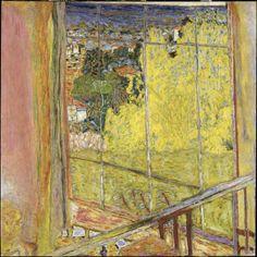 L'Atelier au Mimosa, Pierre Bonnard. Musee National d'Art Moderne, Paris