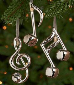 musical note ornaments #christmas #ornaments http://www.pinterest.com/TheHitman14/music-seasonalholidays-%2B/