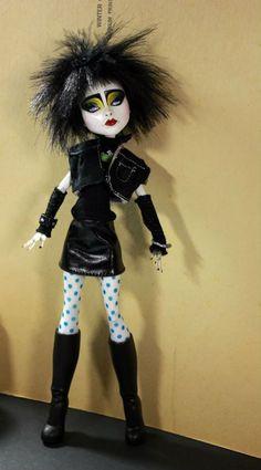 Siouxsie Sioux doll