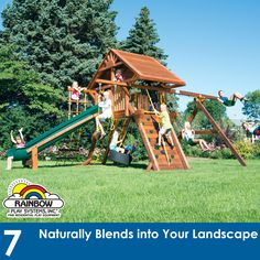 25 Reasons Why Rainbow Is The VERY BEST #swingsets #rainbowplay #rainbowplaysystem #rainbowplaysystems