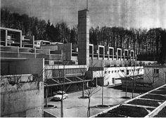 Siedlung Halen by Atelier 5. Built between 1957-1961