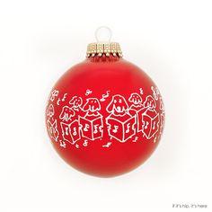 William Wegman Singing Dogs Christmas Ornament | http://www.ifitshipitshere.com/artist-designed-christmas-ornaments-turn-tree-gallery/