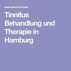 Tinnitus Behandlung und Therapie in Hamburg