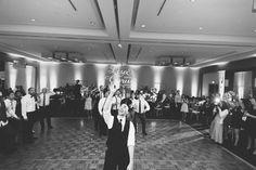 Wedding reception at the Hyatt Regency in Crystal City, VA. Captured by NYC wedding photographer Ben Lau.