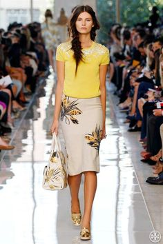 My favorite look today. Tory Burch Spring 2013. Tory Burch Blog : Fashion Trends, Style Tips, Inspiration & News